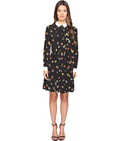 The Kooples - Camelia Dots Print on Silk Crepe de Chine