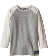 Toobydoo - Charcoal Baseball Tee (Infant/Toddler/Little Kids/Big Kids)