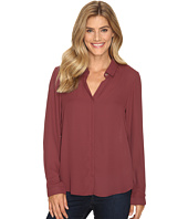 B Collection by Bobeau - Herriot Woven Blouse