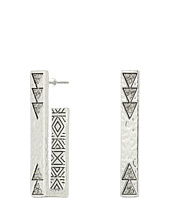 House of Harlow 1960 - Golden Scutum Bar Earrings