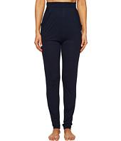 Emporio Armani - Viscose Loungewear with Rhinestone Eagle Lounge Pants
