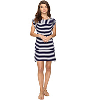 Tommy Bahama - Breton Stripe Rolled-Sleeve Dress Cover-Up