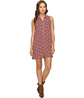 Brigitte Bailey - Zahra Sleeveless Print Button Up Dress with Pockets