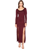 Culture Phit - Gali Long Sleeve Maxi Dress with Slits