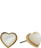 Tory Burch - Amore Heart Stud Earrings
