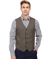 Perry Ellis - Regular Fit Pattern Twill Suit Vest