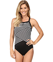 Miraclesuit - New Directions Color Block High Neck One-Piece