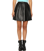 Jeremy Scott - Leather Circle Skirt