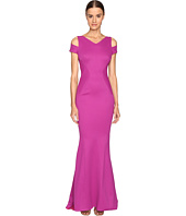 Zac Posen - Bondage Jersey Cold Shoulder Gown