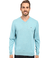 Vineyard Vines - Performance Merino Whale V-Neck Shirt