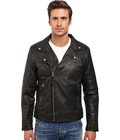 Members Only - Genuine Leather/Lamb Milano Modern Motor Jacket