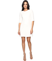 Tahari by ASL - Classic Double Woven Sleeved A-Line Dress