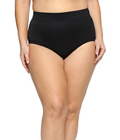 Miraclesuit - Plus Size Solid Basic Brief Bottom