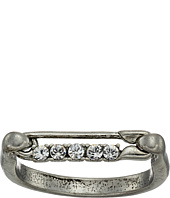 Marc Jacobs - Safety Pin Strass Ring