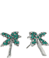 Marc Jacobs - Charms Tropical Strass Palm Tree Studs Earrings