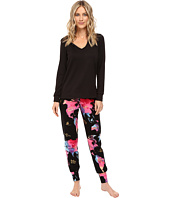 BedHead - French Terry Long Sleeve Hoodie and Jogger Pants Set