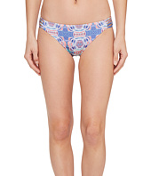 Roxy - Printed Strappy Love Reversible 70's Bikini Bottom