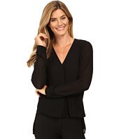 MICHAEL Michael Kors - Draped Blouse w/ Lace Insert