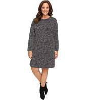 MICHAEL Michael Kors - Plus Size Norfolk Long Sleeve Flare Dress