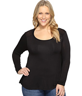 B Collection by Bobeau Curvy - Plus Size Waverly Tee