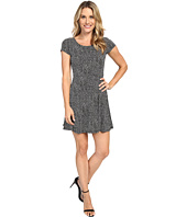 MICHAEL Michael Kors - Graphic Scale Cap Sleeve Dress