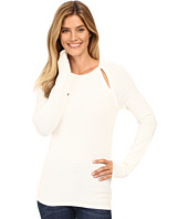 MICHAEL Michael Kors - Long Sleeve Slit Raglan Sweater