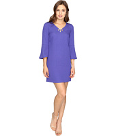 kensie - Textured Dot Dress KSDK7797