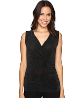 MICHAEL Michael Kors - Sleeveless Side Drape Top