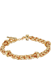 LAUREN Ralph Lauren - Back to Basics II Braided Gold Chain Bracelet