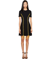 DSQUARED2 - Skin Biker Short Sleeve Dress