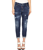 DSQUARED2 - Cool Girl Jeans Skin Biker Pants Five-Pockets in Blue