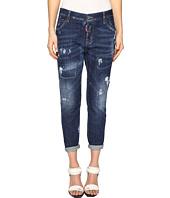 DSQUARED2 - Cool Girl Jeans Skin Biker Pants Five-Pockets in Blue