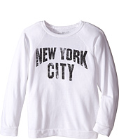 The Original Retro Brand Kids - New York City Quad Blend Pullover (Big Kids)
