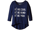 Be Cool Be Kind Be You Dolman 3/4 Tee (Big Kids)