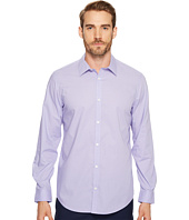 Calvin Klein - Long Sleeve Infinite Cool Button Down Mini Check Shirt