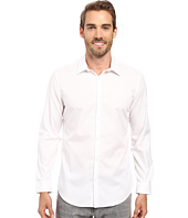 Calvin Klein - Slim Fit Long Sleeve Infinite Cool Chambray Twill Shirt