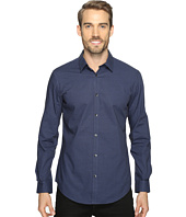 Calvin Klein - Slim Fit Long Sleeve Infinite Cool Button Down Check Shirt