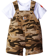 Carhartt Kids - Two-Piece Shortall Set (Infant)