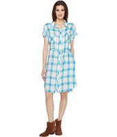 Stetson - 0901 Rayon Twill Plaid Western Shirtdress