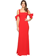 Badgley Mischka - Bow Sleeve Off the Shoulder Gown