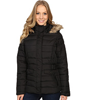 U.S. POLO ASSN. - Short Puffer Jacket with Fur Hood