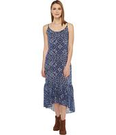 Roper - 0879 Navy Bandana Print Dress