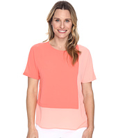 Vince Camuto - Extend Shoulder Color Blocked Blouse