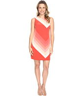 Vince Camuto - Sleeveless Modern Bands Shift Dress