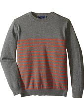 Toobydoo - Harrison Crew Neck Sweater (Toddler/Little Kids/Big Kids)