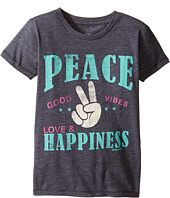 O'Neill Kids - Happy Vibes Peekaboo Tee (Toddler/Little Kids)