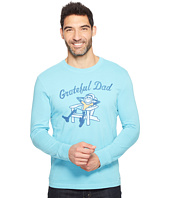 Life is Good - Grateful Dad Adirondack Long Sleeve Crusher Tee