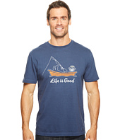 Life is Good - Kickback Fish Crusher Tee