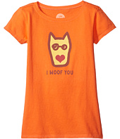 Life is Good Kids - I Woof You Crusher Tee (Little Kids/Big Kids)