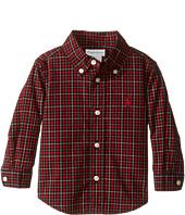 Ralph Lauren Baby - Poplin Long Sleeve Button Down Shirt (Infant)